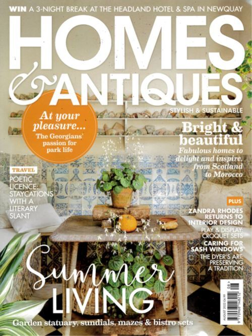 Cover: BBC Homes & Antiques magazine
