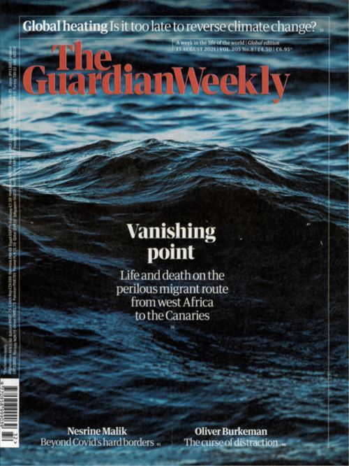 Cover: Guardian Weekly magazine