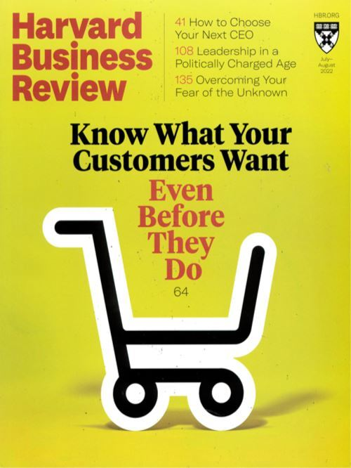 Cover: Harvard Business Review magazine