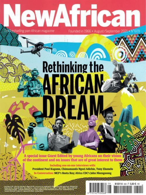 Cover: New African magazine