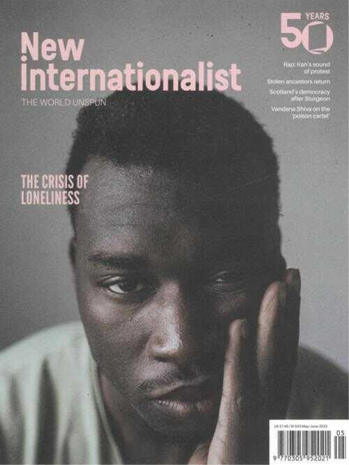 Cover: New Internationalist magazine