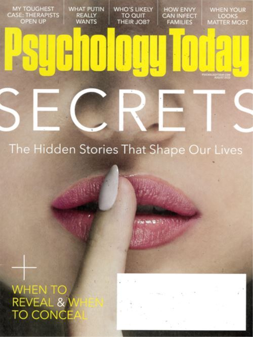Cover: Psychology Today magazine