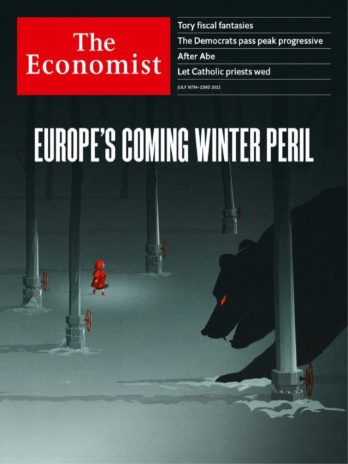 Cover: The Economist magazine