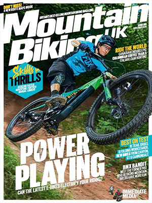 Cover: Mountain Biking UK magazine