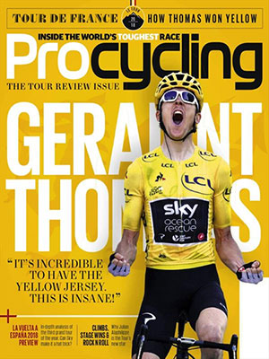 Cover: Procycling magazine
