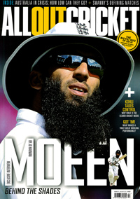 Cover: All Out Cricket magazine