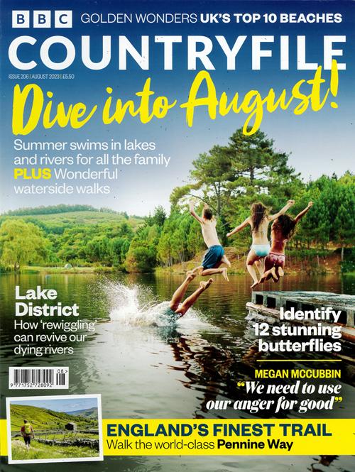 Cover: BBC Countryfile magazine