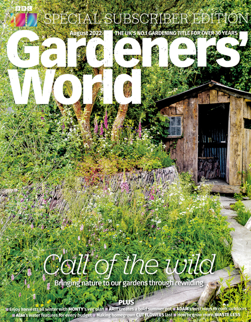 Cover: BBC Gardeners World magazine