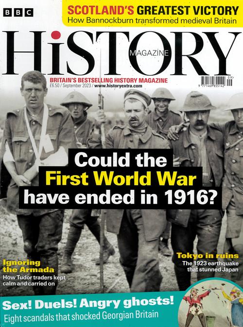 Cover: BBC History magazine