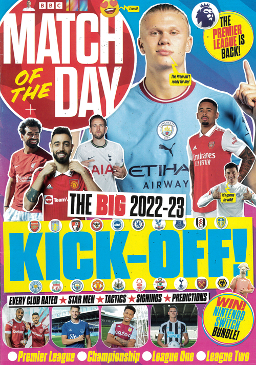Cover: Match of the Day magazine