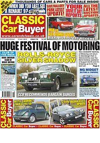 Cover: Classic Car Buyer magazine