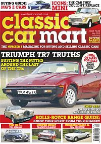 Cover: Classic Car Mart magazine