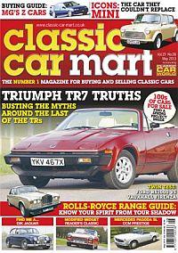 Cover: Classic Car Mart magazine