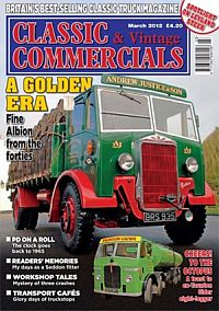 Cover: Classic & Vintage Commercials magazine