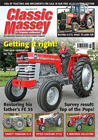 Cover: Classic Massey magazine