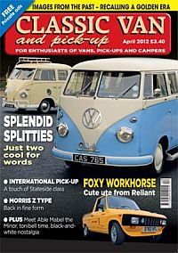 Cover: Classic Van and Pick-up magazine
