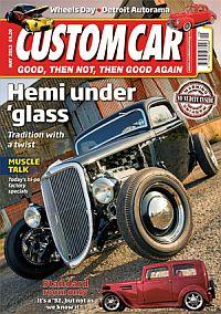 Cover: Custom Car magazine