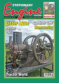 Cover: Stationary Engine magazine