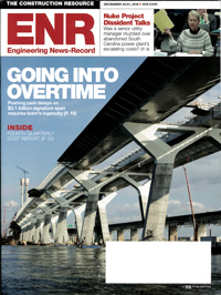 Cover: ENR Engineering News-Record magazine