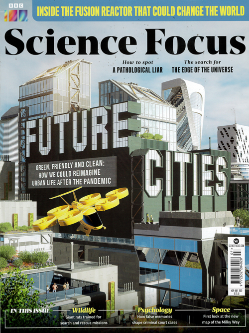 Cover: BBC Science Focus magazine