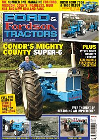 Cover: Ford & Fordson Tractors magazine
