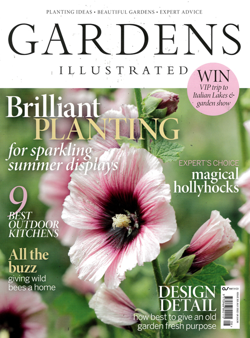Cover: BBC Gardens Illustrated magazine