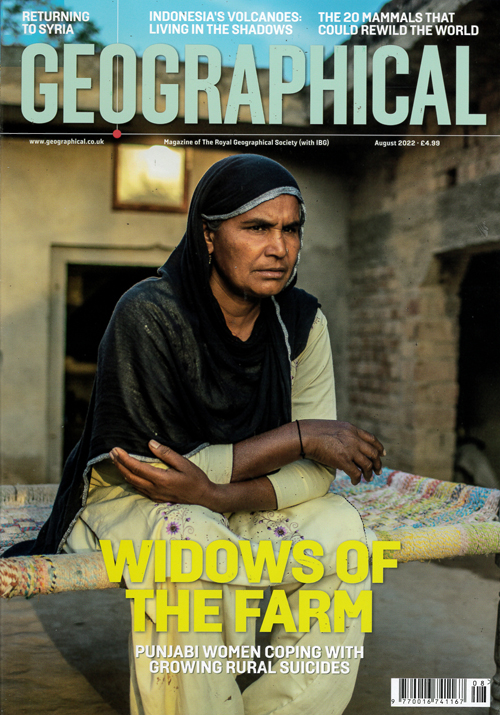 Cover: Geographical magazine