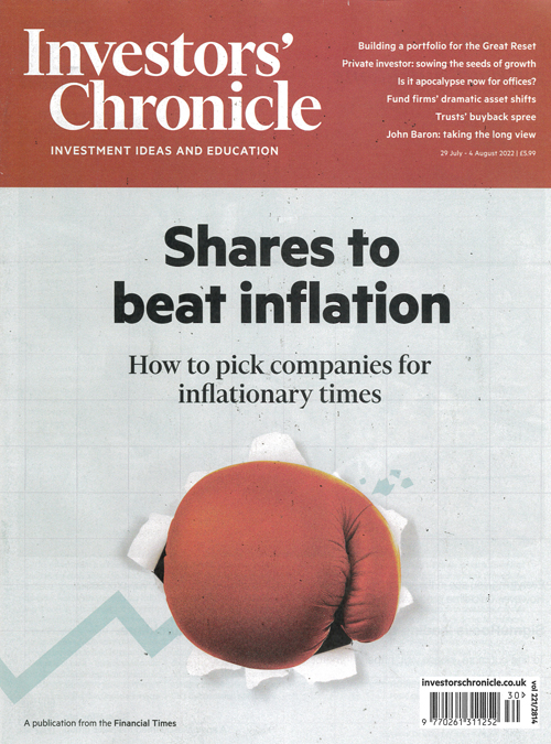 Cover: Investors Chronicle magazine