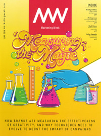 Cover: Marketing Week magazine