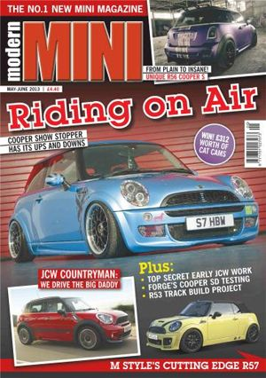 Cover: Modern Mini magazine