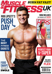 Cover: Muscle & Fitness magazine