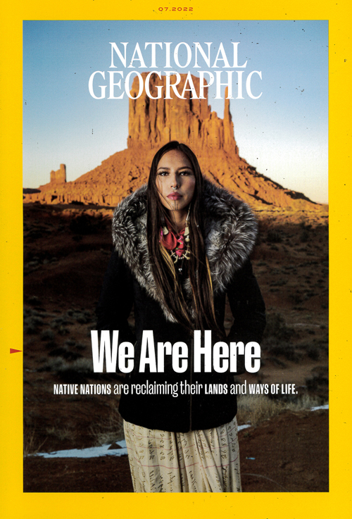 Cover: National Geographic (U.S. UDGAVE) magazine