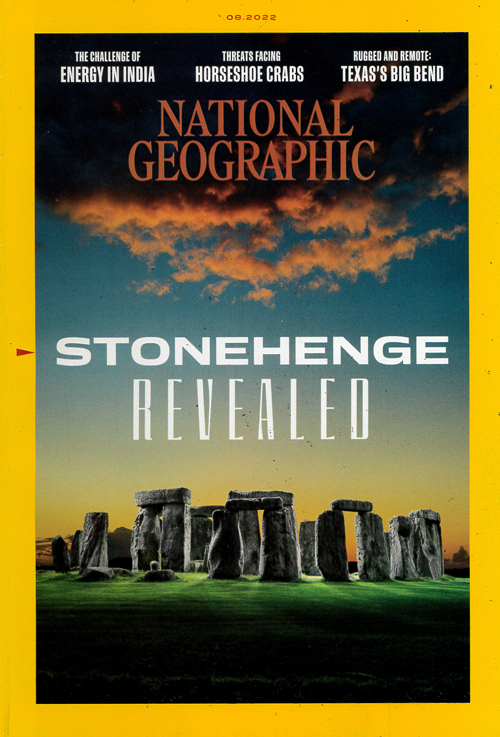 Cover: National Geographic  magazine