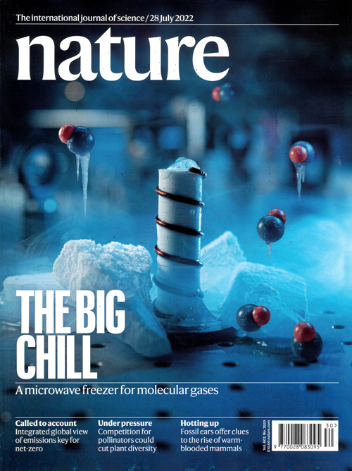 Cover: Nature magazine