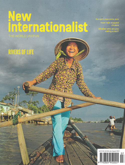 Cover: New Internationalist magazine