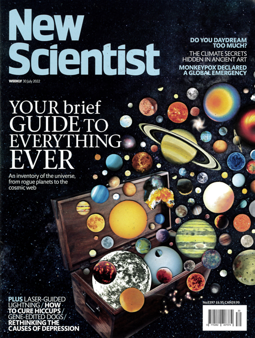 Cover: New Scientist magazine