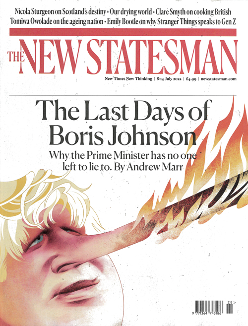 Cover: New Statesman magazine