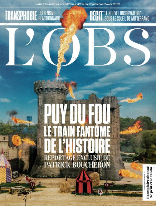 Cover: Le Nouvel Observateur magazine