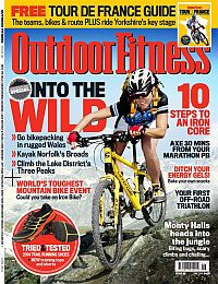 Cover: Outdoor Fitness magazine