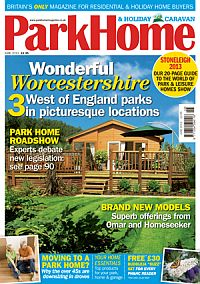 Cover: Park Home & Holiday Caravan magazine