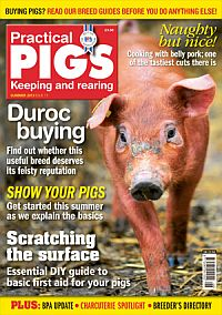 Cover: Practical Pigs magazine