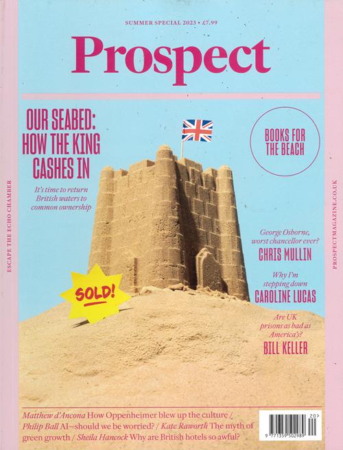 Cover: Prospect magazine