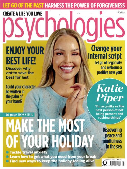 Cover: Psychologies magazine