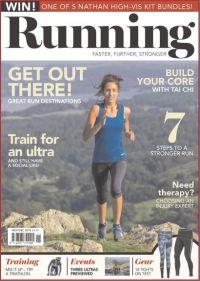 Cover: Running  magazine