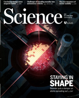 Cover: Science magazine