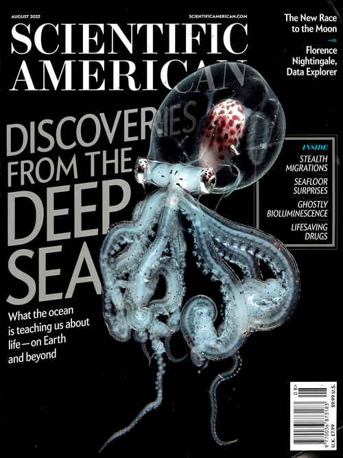 Cover: Scientific American magazine