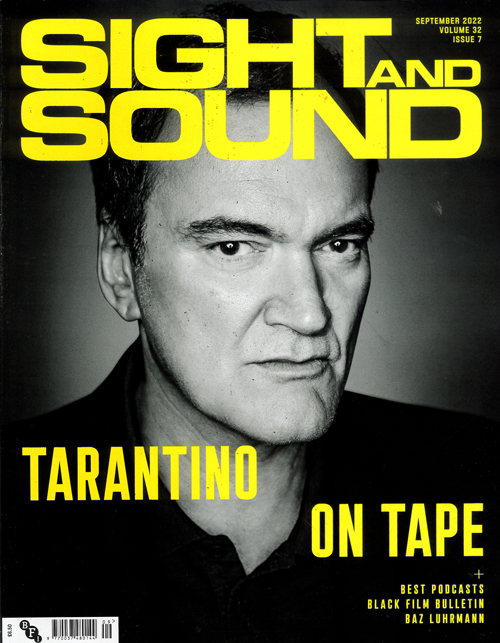 Cover: Sight & Sound magazine