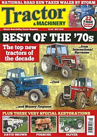 Cover: Tractor & Machinery magazine
