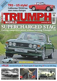 Cover: Triumph World magazine