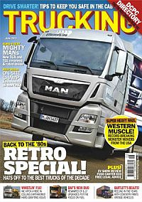 Cover: Trucking magazine